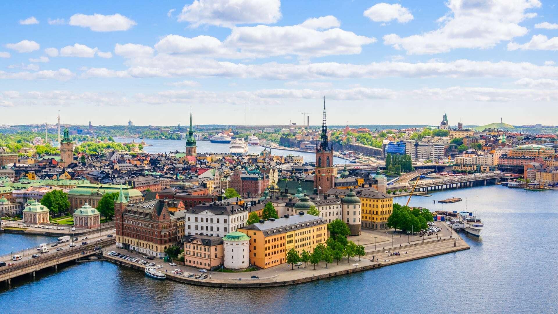 Sweden Stockholm Website Image