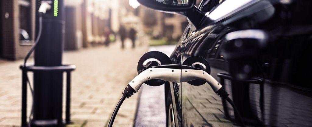 Electric charging car 01
