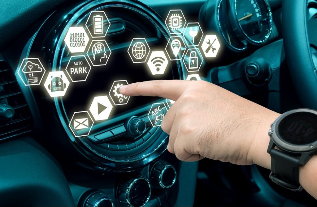 Smart routing car
