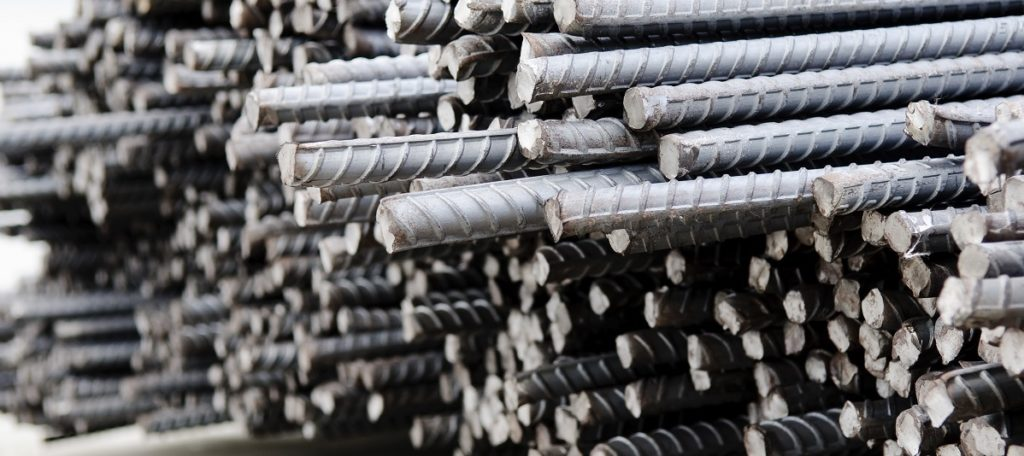 Steel rods bars