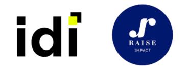 Image of IDI et Raise Impact Company Logo