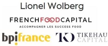 Image of Lionel Wolberg, BPI France, Tikehau, French Food Company Logo