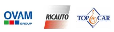 Image of OVAM, RICAUTO, TOPCAR Company Logo