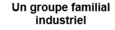 Image of Un groupe familial industriel Company Logo