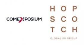 Image of Hopscotch, Comexposium Company Logo