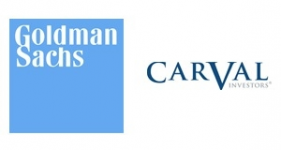 Image of Goldman Sachs and Carval Investors Company Logo