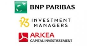 Image of 123 Venture, BNP/Arkéa Company Logo