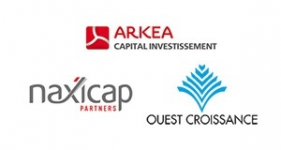 Image of Naxicap Partners, Ouest Croissance, Arkéa Capital Company Logo