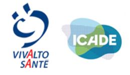 Image of Vivalto Santé and Icade Santé Company Logo