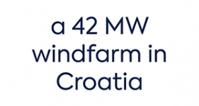 Image of a 42 MW windfarm in Croatia Company Logo