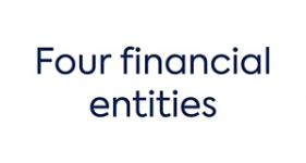 Image of four financial entities Company Logo