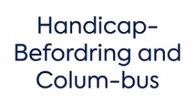 Image of Handicap-Befordring and Colum-bus  Company Logo