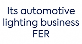 Image of its automotive lighting business FER Company Logo