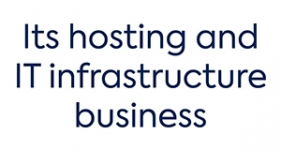 Image of its hosting and IT infrastructure business Company Logo