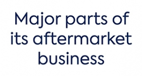 Image of major parts of its aftermarket business Company Logo
