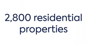 Image of 2,800 residential properties Company Logo