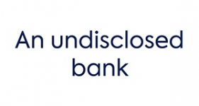 Image of One bank (undisclosed) Company Logo