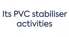 Image of its PVC stabiliser activities Company Logo