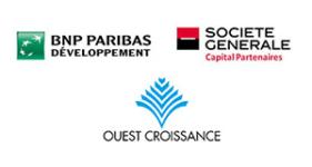 Image of BNP Paribas Développement, Société Générale Capital Partenaires, Ouest Croissance Company Logo