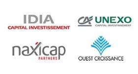 Image of IDIA Capital Investissement, UNEXO, Naxicap, Ouest Croissance Company Logo