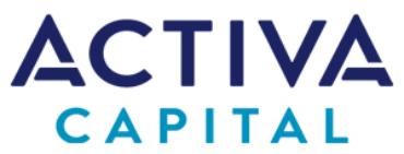 Image of Activa Capital Company Logo