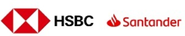 Image of Santander and HSBC Company Logo
