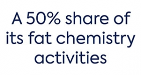 Image of its 50% share of its own fat chemistry activities (Oleochemicals and successor products) Company Logo