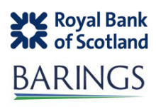 Image of RBS and Barings Company Logo