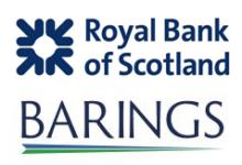 Image of RBS and Barings Company Logo