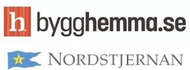 Image of Bygghemma and Nordstjernan Company Logo
