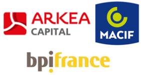 Image of Arkéa Capital, Bpifrance and Macif Company Logo