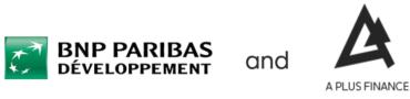 Image of BNP Paribas Developpement and A Plus Finance Company Logo