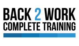 Image of Back2Work Company Logo