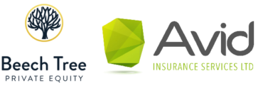 Image of Beech Tree backed Avid Insurance Company Logo