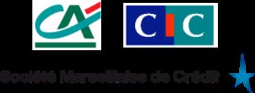 Image of Crédit Agricole, CIC, SMC Company Logo