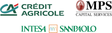 Image of Credit Agricole, MPS, Intesa Sanpaolo Company Logo