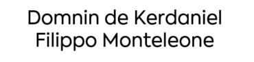 Image of Domnin de Kerdaniel, Filippo Monteleone Company Logo