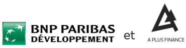 Image of BNP Paribas Developpement and A Plus Finance Company Logo