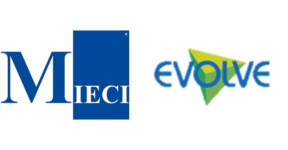 Image of Mieci and Evolve Company Logo