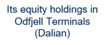 Image of its equity holdings in Odfjell Terminals (Dalian) Company Logo