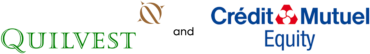 Image of Quilvest and Crédit Mutuel Equity Company Logo
