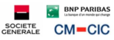Image of Société Générale, BNP, CMC CIC Company Logo