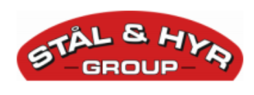 Image of Stål&Hyr Company Logo