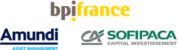 Image of bpi france, Amundi, Sofipaca Company Logo